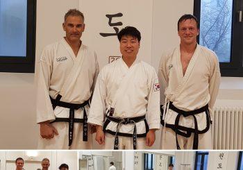 Besuch von der Traditional Taekwondo Academy Diessen