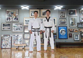 Großmeister Kang, Shin-Gyu zu Besuch in Busan