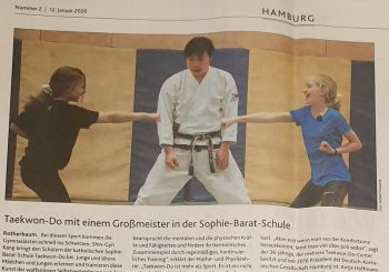 Neuigkeiten im Februar 2020 | Taekwon-Do im Kang Center | Berlin . Hamburg .Kiel