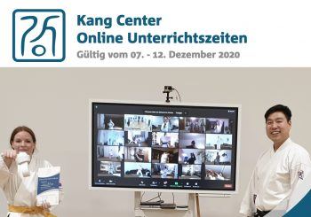 Neuigkeiten im Dezember 2020 | Taekwon-Do im Kang Center | Hamburg . Kiel . Berlin